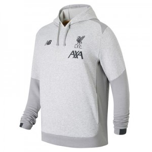 Liverpool Base Overhead Hoody - Lt Grey