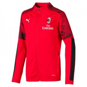 AC Milan Training Track Jacket - Red - Kids