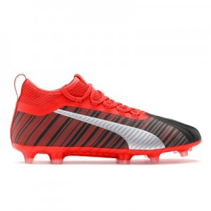 Puma One 5.2 Firm Ground Football Boots - Black