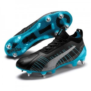 Puma One 5.1 Man City Edition Soft Ground Football Boots - Black