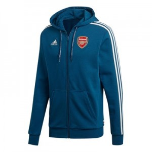 Arsenal Full Zip Hoodie - Navy