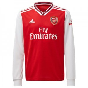 Arsenal Home Shirt 2019-20 - Kids - Long Sleeve