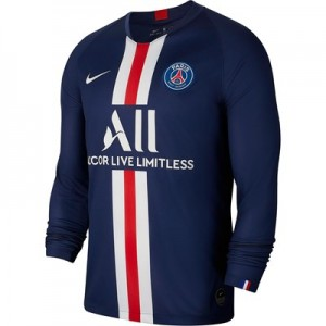 Paris Saint-Germain Home Stadium Shirt 2019-20 - Long Sleeve