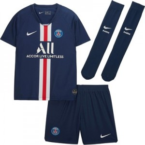 Paris Saint-Germain Home Stadium Kit 2019-20 - Little Kids