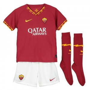 AS Roma Home Stadium Kit 2019-20 - Little Kids