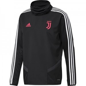 Juventus Training Warm Top - Black
