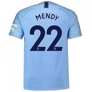 Manchester City Home Stadium Shirt 2018-19 with Mendy 22 printing