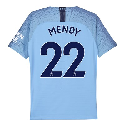 Manchester City Home Vapor Match Shirt 2018-19 - Kids with Mendy 22 printing