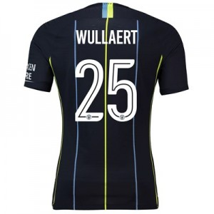 Manchester City Away Cup Vapor Match Shirt 2018-19 with Wullaert 25 printing