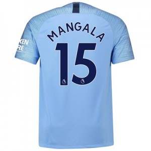 Manchester City Home Stadium Shirt 2018-19 with Mangala 15 printing