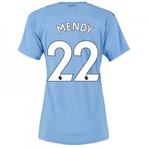 Manchester City Authentic Home Shirt 2019-20 - Womens with Mendy 22 printing