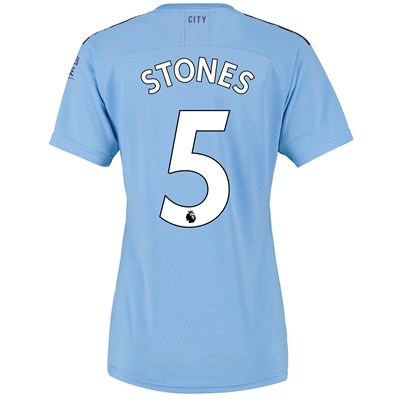 Manchester City Home Shirt 2019-20 - Womens with Stones 5 printing