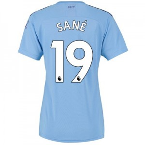 Manchester City Home Shirt 2019-20 - Womens with Sané 19 printing
