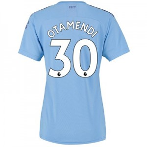 Manchester City Home Shirt 2019-20 - Womens with Otamendi 30 printing