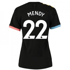 Manchester City Authentic Away Shirt 2019-20 - Womens with Mendy 22 printing