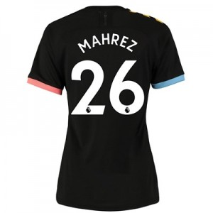 Manchester City Authentic Away Shirt 2019-20 - Womens with Mahrez 26 printing