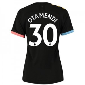 Manchester City Authentic Away Shirt 2019-20 - Womens with Otamendi 30 printing