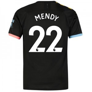 Manchester City Away Shirt 2019-20 with Mendy 22 printing