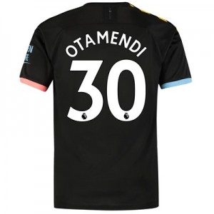 Manchester City Away Shirt 2019-20 with Otamendi 30 printing