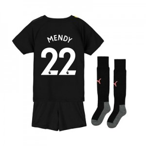 Manchester City Away Mini Kit 2019-20 with Mendy 22 printing