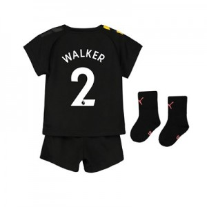 Manchester City Away Baby Kit 2019-20 with Walker 2 printing