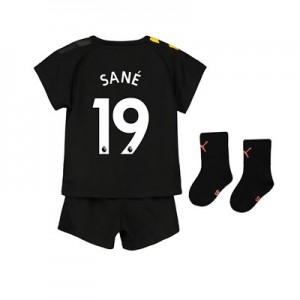 Manchester City Away Baby Kit 2019-20 with Sané 19 printing