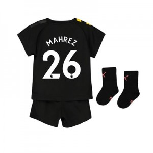 Manchester City Away Baby Kit 2019-20 with Mahrez 26 printing
