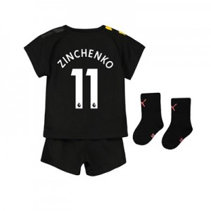Manchester City Away Baby Kit 2019-20 with Zinchenko 11 printing