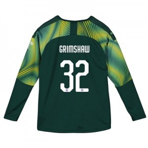Manchester City Home Cup Goalkeeper Shirt 2019-20 - Kids with Grimshaw 32 printing