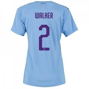 Manchester City Authentic Cup Home Shirt 2019-20 - Womens with Walker 2 printing