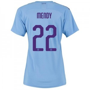 Manchester City Authentic Cup Home Shirt 2019-20 - Womens with Mendy 22 printing
