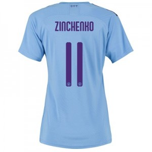 Manchester City Authentic Cup Home Shirt 2019-20 - Womens with Zinchenko 11 printing