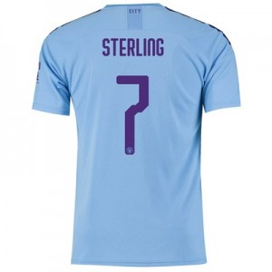 Manchester City Cup Home Shirt 2019-20 with Sterling 7 printing