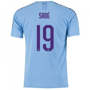 Manchester City Cup Home Shirt 2019-20 with Sané 19 printing
