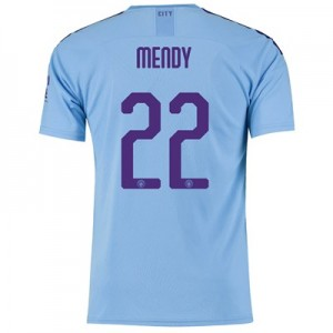 Manchester City Cup Home Shirt 2019-20 with Mendy 22 printing