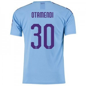 Manchester City Cup Home Shirt 2019-20 with Otamendi 30 printing