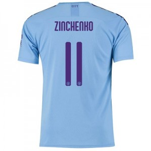 Manchester City Cup Home Shirt 2019-20 with Zinchenko 11 printing