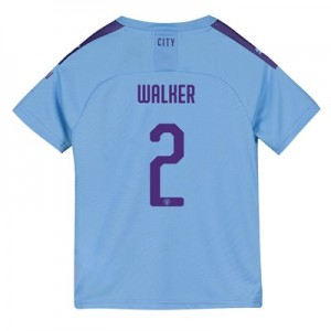 Manchester City Cup Home Shirt 2019-20 - Kids with Walker 2 printing