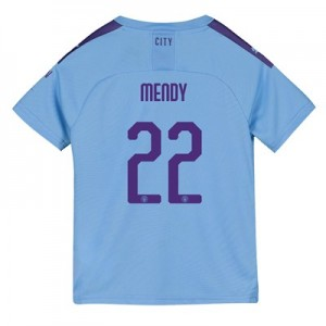 Manchester City Cup Home Shirt 2019-20 - Kids with Mendy 22 printing