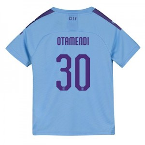 Manchester City Cup Home Shirt 2019-20 - Kids with Otamendi 30 printing