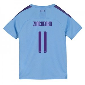 Manchester City Cup Home Shirt 2019-20 - Kids with Zinchenko 11 printing