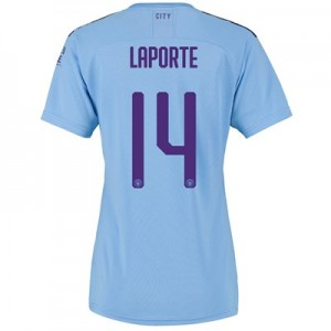 Manchester City Cup Home Shirt 2019-20 - Womens with Laporte 14 printing