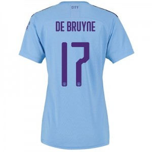 Manchester City Cup Home Shirt 2019-20 - Womens with De Bruyne 17 printing