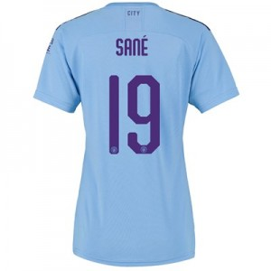Manchester City Cup Home Shirt 2019-20 - Womens with Sané 19 printing