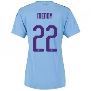 Manchester City Cup Home Shirt 2019-20 - Womens with Mendy 22 printing