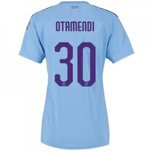 Manchester City Cup Home Shirt 2019-20 - Womens with Otamendi 30 printing