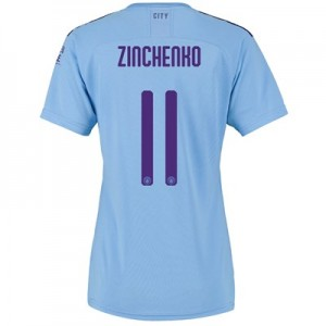 Manchester City Cup Home Shirt 2019-20 - Womens with Zinchenko 11 printing
