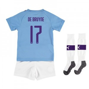 Manchester City Cup Home Mini Kit 2019-20 with De Bruyne 17 printing