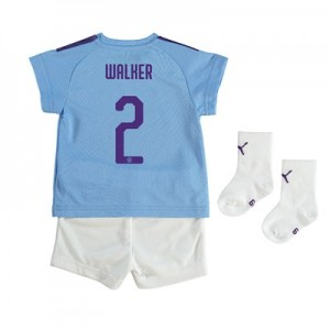 Manchester City Cup Home Baby Kit 2019-20 with Walker 2 printing
