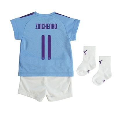 Manchester City Cup Home Baby Kit 2019-20 with Zinchenko 11 printing